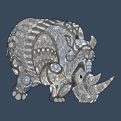 Rhino | RAVI | Digital Drawing | PENUP