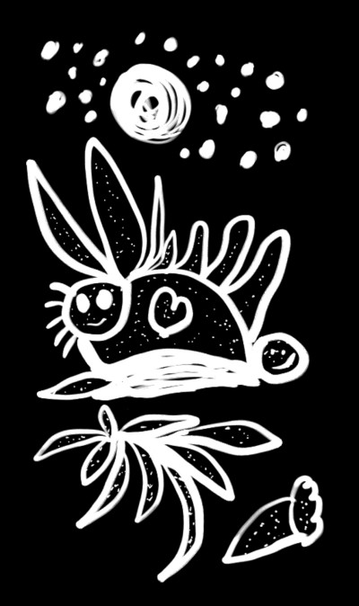Space  Bunny   HappypainterM   Digital Drawing   PENUP