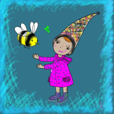 let's bee friends:) | shellye | Digital Drawing | PENUP