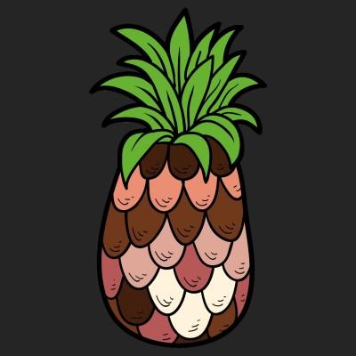 Pineapple Love | stewievincent | Digital Drawing | PENUP