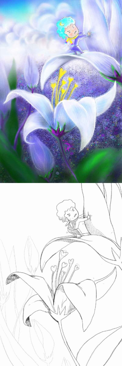 Collaboration with Treestory | Nokhong | Digital Drawing | PENUP