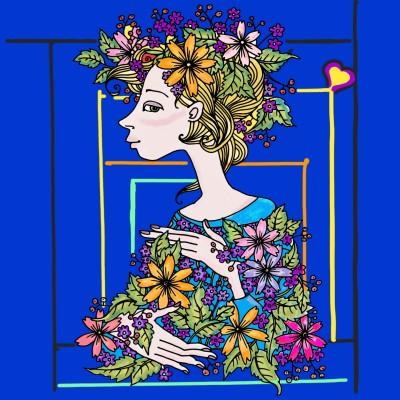Coloring Digital Drawing | enza | PENUP