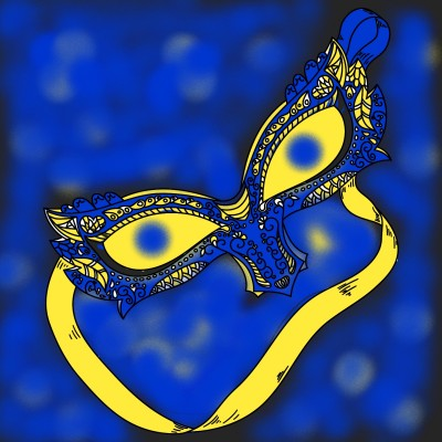 mask | tgill1 | Digital Drawing | PENUP