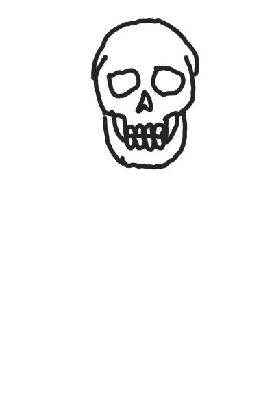 해골바가지 | JIMI_red | Digital Drawing | PENUP