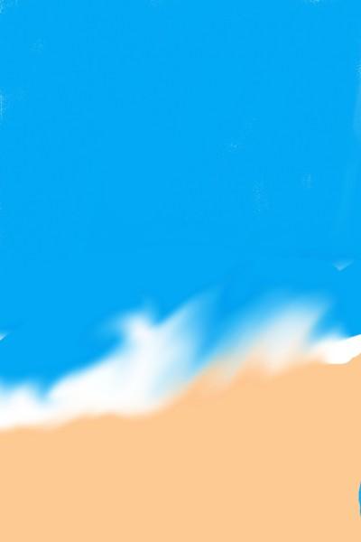 푸 른 바 다 | TaeJun | Digital Drawing | PENUP