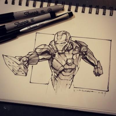 Ironing Man | Hunger_art | Digital Drawing | PENUP