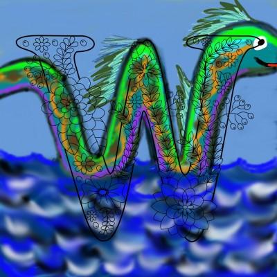 water serpent :) | missT | Digital Drawing | PENUP