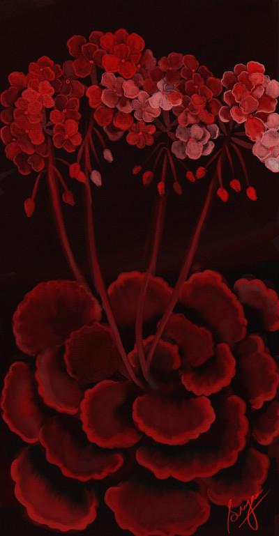 Crimson  | Sugan | Digital Drawing | PENUP