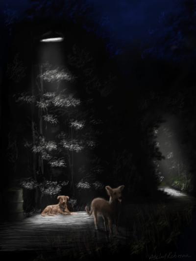 Spirits of darkness. ' | abdulrahman | Digital Drawing | PENUP
