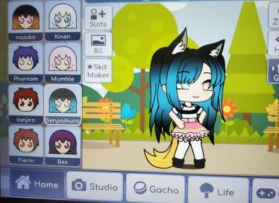 my oc in gacha | sweet_dragon | Digital Drawing | PENUP