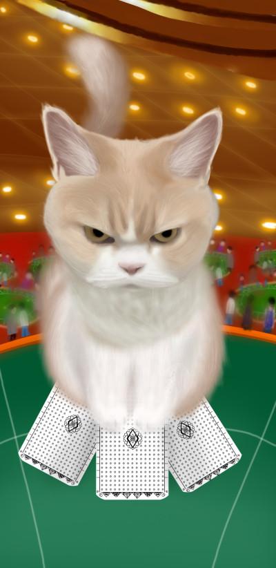 Did you forget to feed me hoooooman? | Louis | Digital Drawing | PENUP