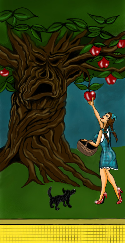 Let's Draw a Tree (Ria's Challenge) | Terry627 | Digital Drawing | PENUP