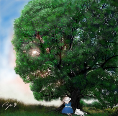 Tree | azu | Digital Drawing | PENUP