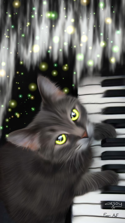 FOR  A.F♡♡♡♡♡♡   SWEET CAT | aksoy | Digital Drawing | PENUP