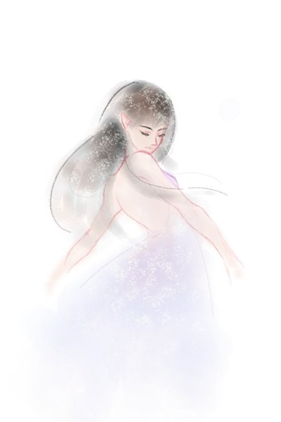 lonely dance | Ebong | Digital Drawing | PENUP