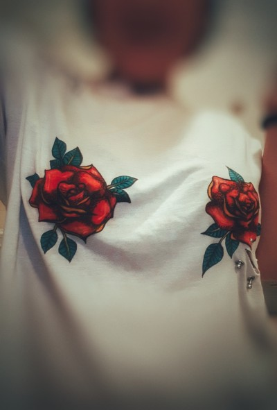 just roses on my shirt | AngelaPezzotti | Digital Drawing | PENUP