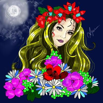 Esmeralda | Ayca | Digital Drawing | PENUP