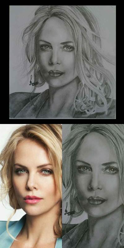 Charlize Theron   venus20   Digital Drawing   PENUP