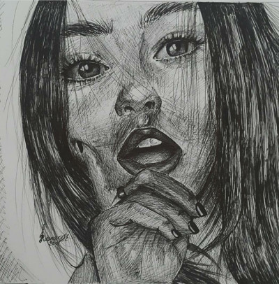Portrait Digital Drawing   venus20   PENUP