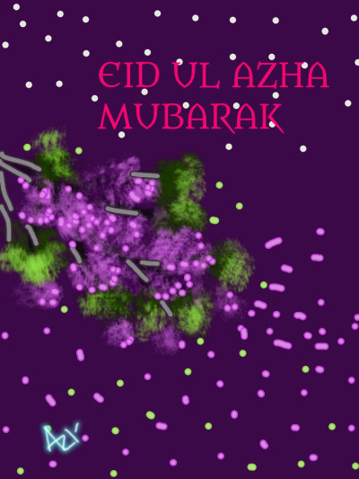 Happy EID UL AZHA | AZR | Digital Drawing | PENUP