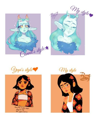 Redraws owo | Luckylu23 | Digital Drawing | PENUP