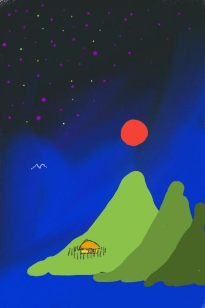 달   qweensara   Digital Drawing   PENUP