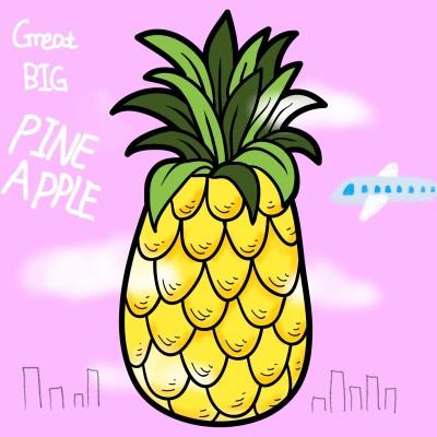 Great Big Pineapple  | Yieum | Digital Drawing | PENUP