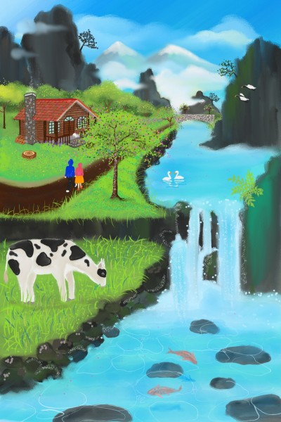 A lovely place | Diana | Digital Drawing | PENUP