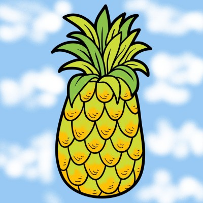 pineapple  | nks | Digital Drawing | PENUP