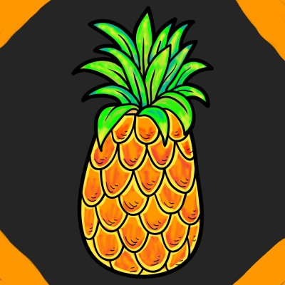 PINEAPPLE | Tomcat | Digital Drawing | PENUP