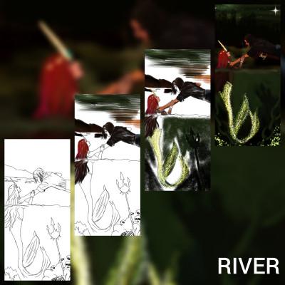 Landscape Digital Drawing | -aksoy- | PENUP