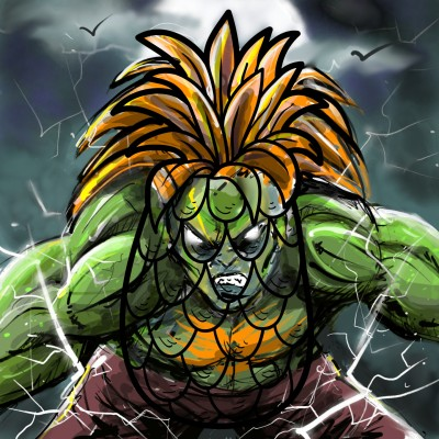 ☆BLANKA☆ | z3dmax | Digital Drawing | PENUP