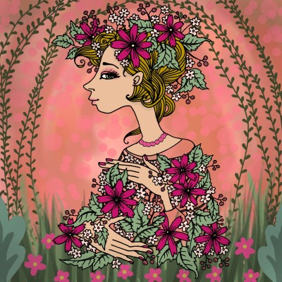 Coloring Digital Drawing | Lorenna | PENUP