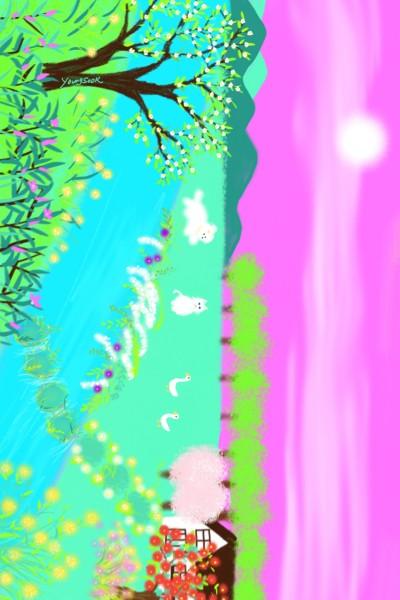 16.시골풍경 | youngsook | Digital Drawing | PENUP