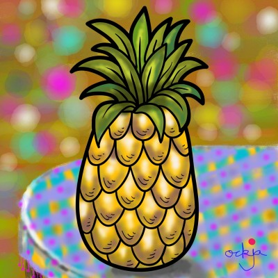"""I'm pineapple!""♡ 