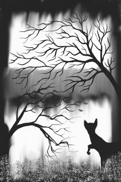 Fox    Dex.R   Digital Drawing   PENUP