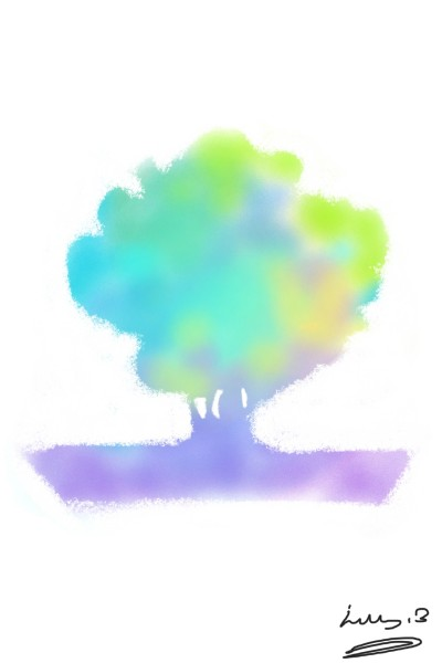 Rainbow Tree | bohemian_anqel | Digital Drawing | PENUP