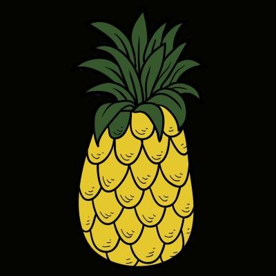 Pineapple lovers  | Nirali_6939 | Digital Drawing | PENUP