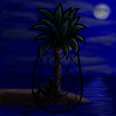 alone on the island ☆   mjalkan   Digital Drawing   PENUP