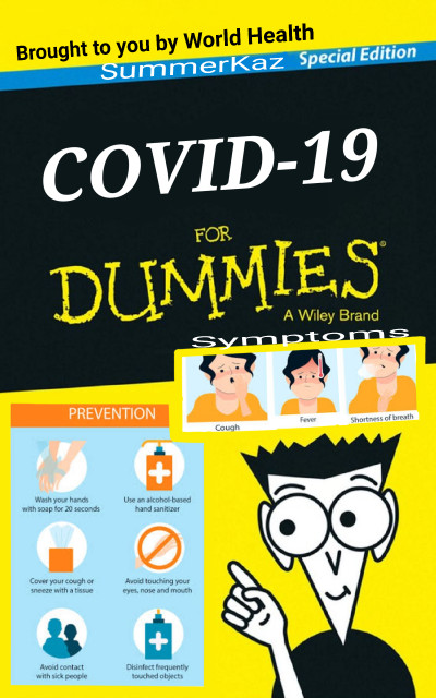 Covid for Dummies | SummerKaz | Digital Drawing | PENUP