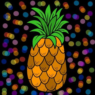 Delicious Pineapple | bohemian_anqel | Digital Drawing | PENUP