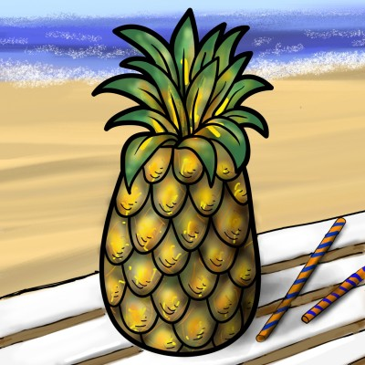 pineapple..  | mjyoo | Digital Drawing | PENUP