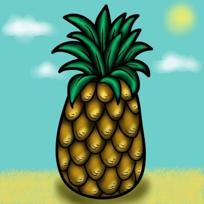 Pineapple | JammyC | Digital Drawing | PENUP