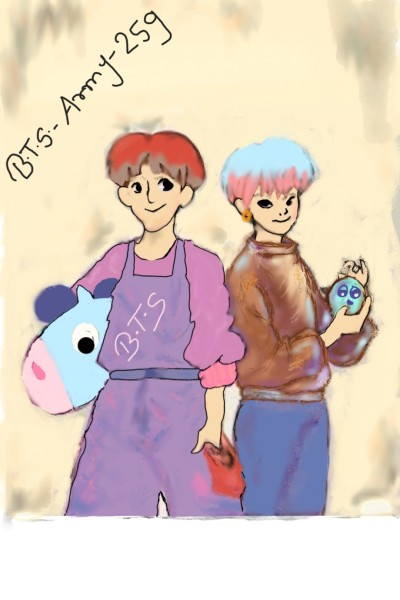This is for my friend BTS_Army_ 259 | Btsjimin | Digital Drawing | PENUP