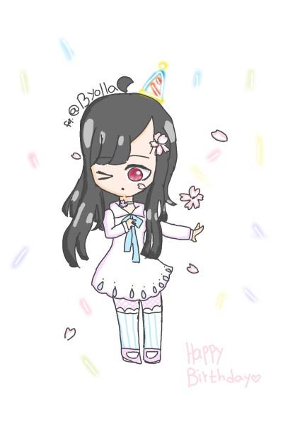 Byeolla님 생일 축하합니당♡♡ | Su-A | Digital Drawing | PENUP