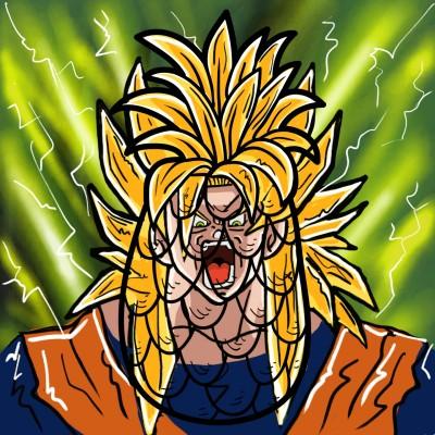 Goku Super Saiyan! | Prashant | Digital Drawing | PENUP
