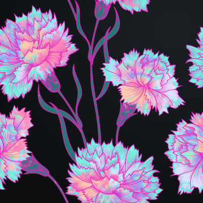 electric carnations | Chris | Digital Drawing | PENUP
