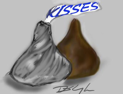 kisses | Bluzie | Digital Drawing | PENUP