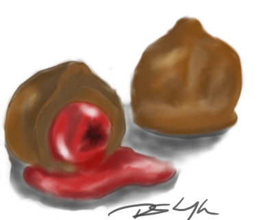 chocolate covered cherries | Bluzie | Digital Drawing | PENUP