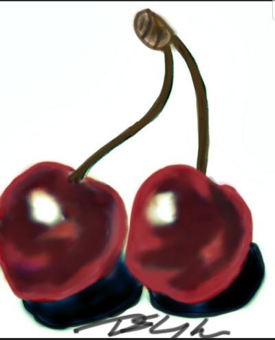 cherries | Bluzie | Digital Drawing | PENUP